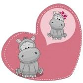 hippo cartoon images - Google Search