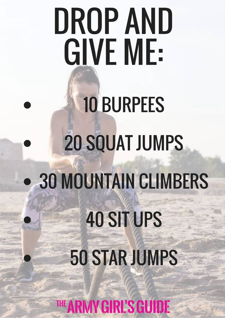 Equipment free HIIT workout. All over body workout   Equipment free workout   Female Fitness   Quick calorie blasting workout – The Army Girl's Guide