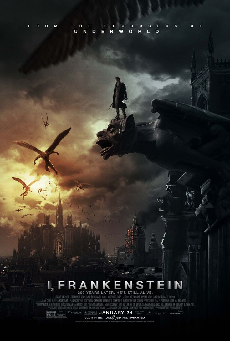 Extra Large Movie Poster Image for I, Frankenstein