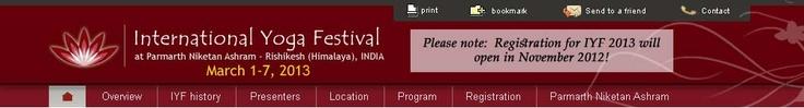 International Yoga Festival, Parmarth Niketan Ashram -
