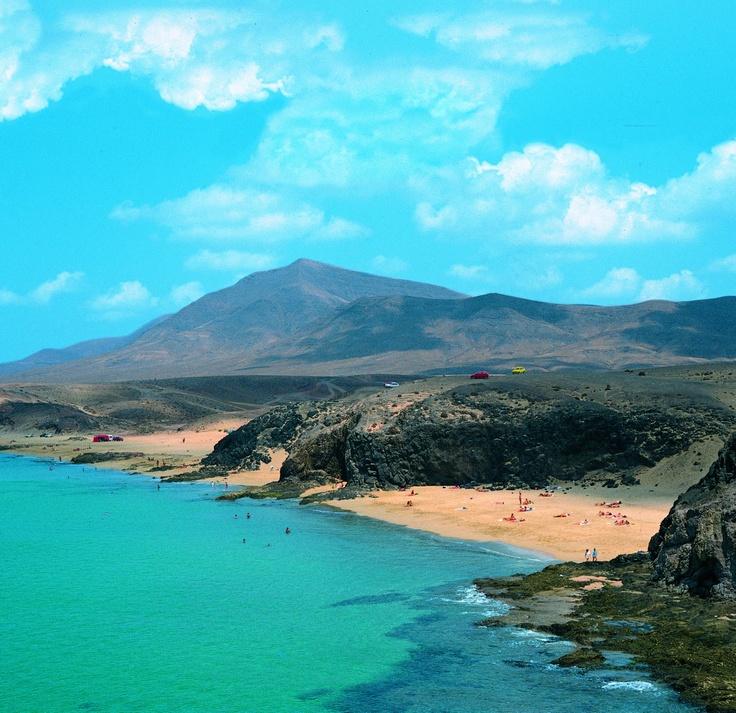 Playas de Papagayo y Parque Natural de Los Ajaches. Lanzarote