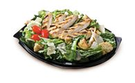 Chicken Caesar Garden Fresh Salad | A medley of romaine lettuce, juicy tomatoes, home-style Parmesan croutons, and shaved Parmesan cheese. Topped with your choice of juicy TENDERCRISP® or TENDRGRILL® Chicken. | bkdelivers.com | #BKdelivers #BURGERKING #delivery #healthy