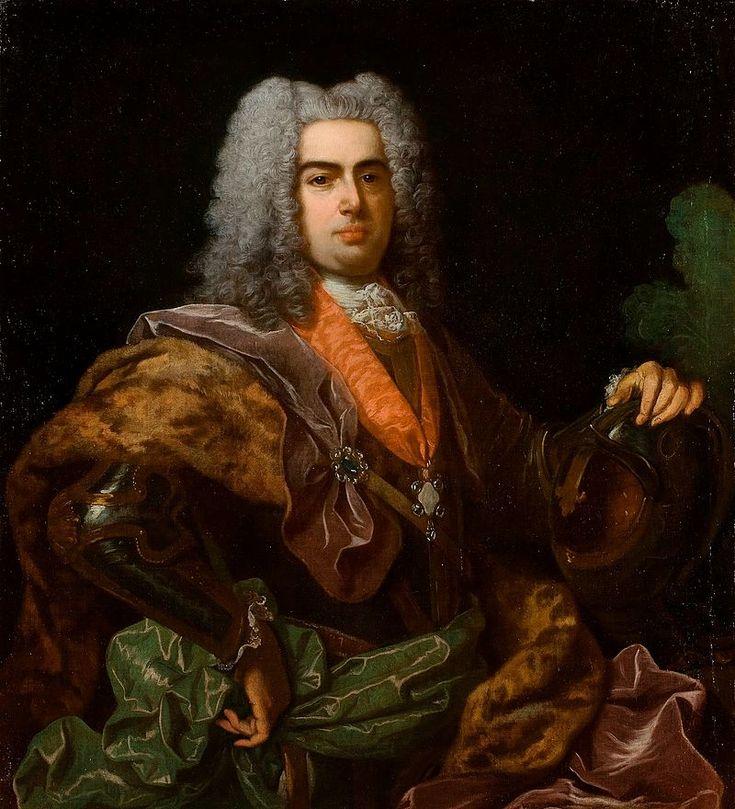 """João V (Lisboa, 22 de outubro de 1689 – Lisboa, 31 de julho de 1750), apelidado de """"o Magnânimo"""", foi o Rei de Portugal e Algarves de 1706 até sua morte. Era o segundo filho do rei Pedro II e sua segunda esposa Maria Sofia de Neuburgo."""