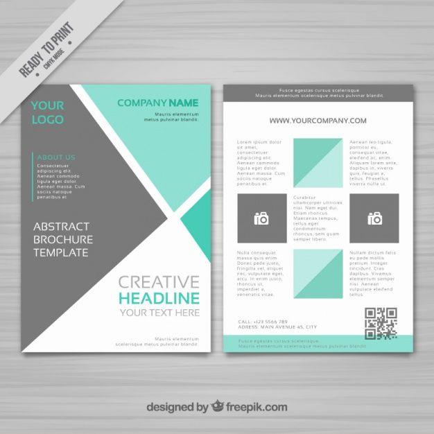 29 best Brochure images on Pinterest Brochures, Brochure - geometric flyer template