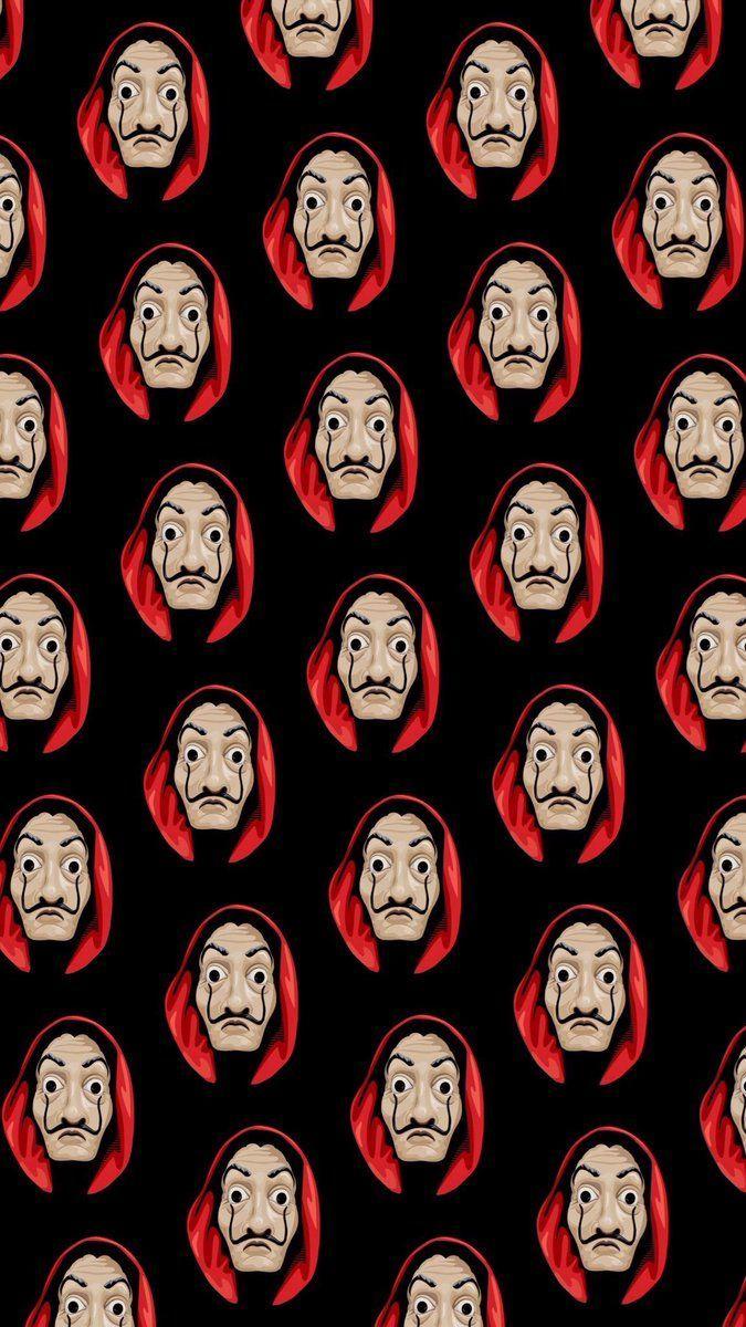 Money Heist Mask Wallpapers Top Free Money Heist Mask Backgrounds Wallpaperaccess Money Background Abstract Iphone Wallpaper Dark Wallpaper Iphone Home screen iphone money heist mask