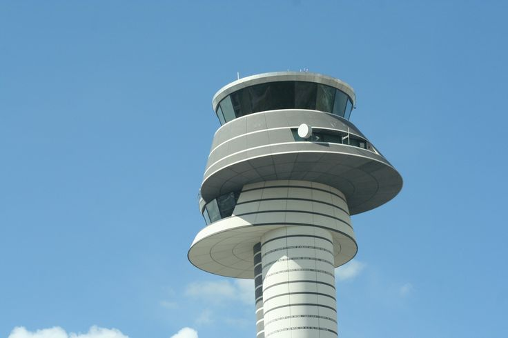 Control Tower at Arlanda Airport  |  Copyright Alfred Gurp