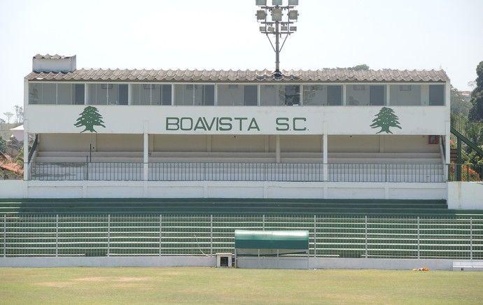 Estádio Eucy Resende de Mendonça - Saquarema (RJ) - Capacidade: 6 mil - Clube: Boa Vista
