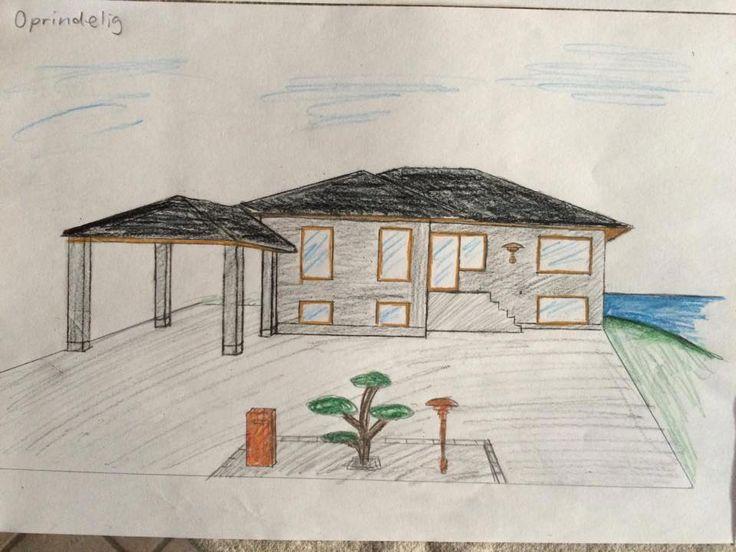 Oprindelig hus (ombygning-facade)