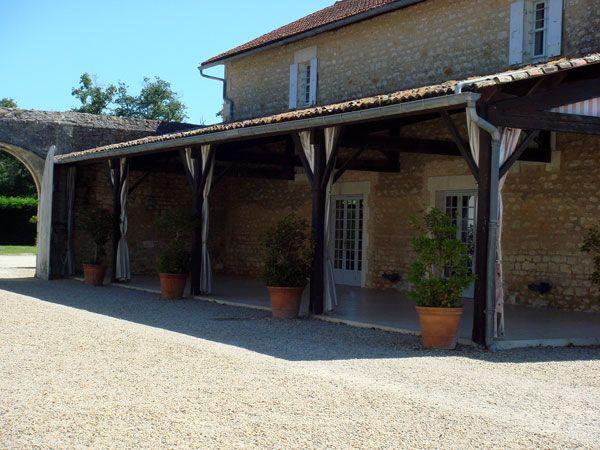 Réception au chateau de la Gataudiere