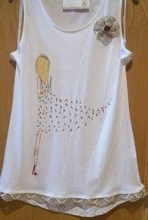 Camisetas decoradas - colorincolorado
