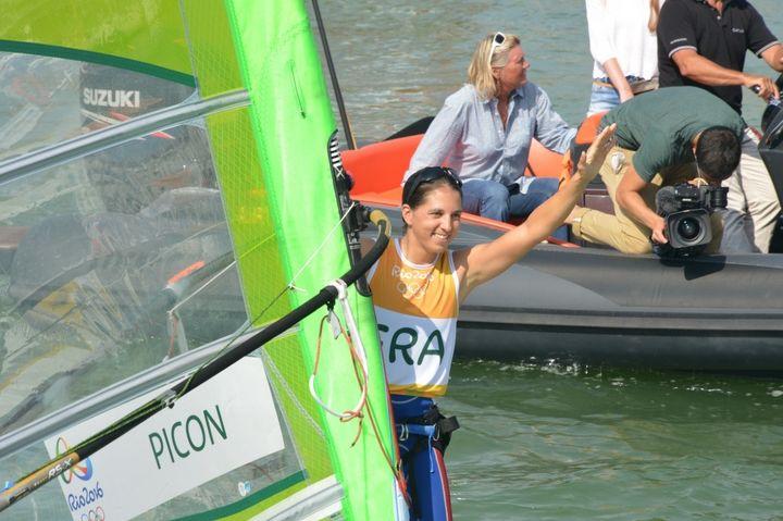 """Charline Picon : """"MON MOTEUR MON ADRÉNALINE"""" #goaleo #yoursportyourgoal #picon #jo2016 #JeuxOlympiques #Rio2016 #France #Sport #Coach #Coaching #plancheàvoile #RSX #voile"""