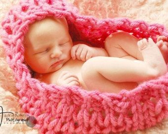 Items similar to CROCHET PATTERN and Video Tutorial - Newborn Pod Cocoon and Beanie Photography Props on Etsy