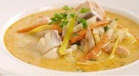 Fiske Suppe: http://members.shaw.ca/jliebgott/soups.html#fiskesuppe