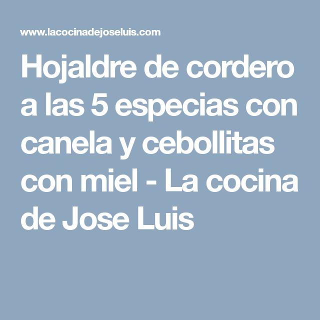 Hojaldre de cordero a las 5 especias con canela y cebollitas con miel - La cocina de Jose Luis