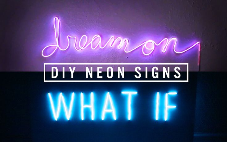 We hope this trend sticks around because we are loving it! Currently making a new neon sign for the bedroom in white! Video tutorial on how to make this faux neon sign is up on our channel!