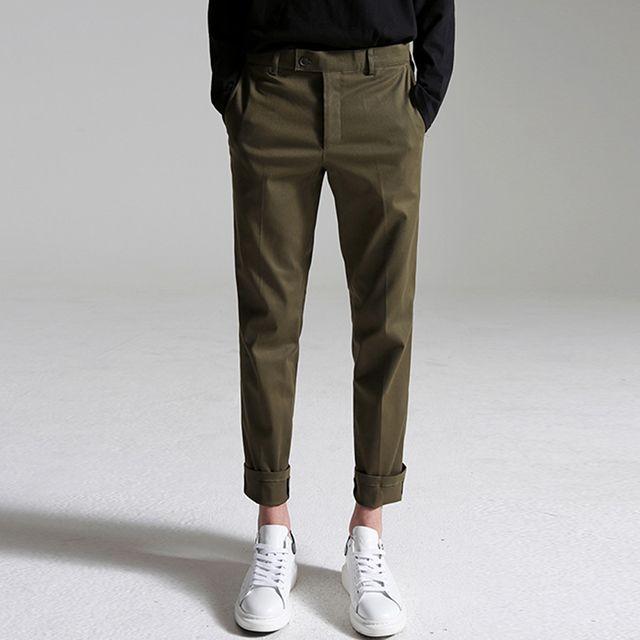 Cotton slacks (Khaki) > 남성 | 힙합퍼|거리의 시작 - Now, That's Street