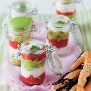 Tomato, Yoghurt and Guacamole Dip #Easy #Recipe #SouthAfrica