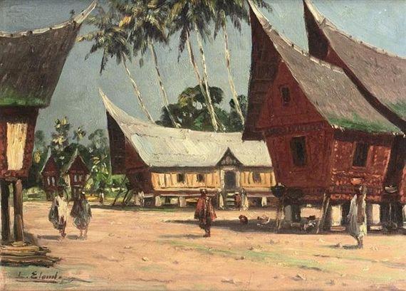 Leo Eland - Rumah Batak Sumatra