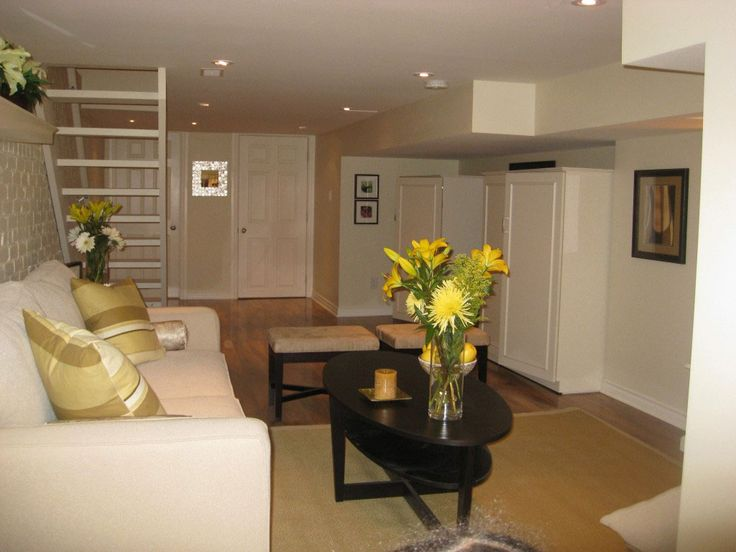 83 best images about basement ideas on pinterest for Modern finished basements