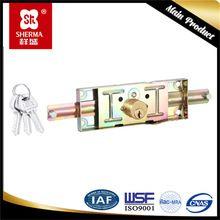 Nuevo producto rodillo de contraventanas de aluminio cerradura de la puerta de garaje
