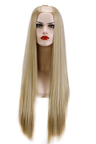 u part wig blonde