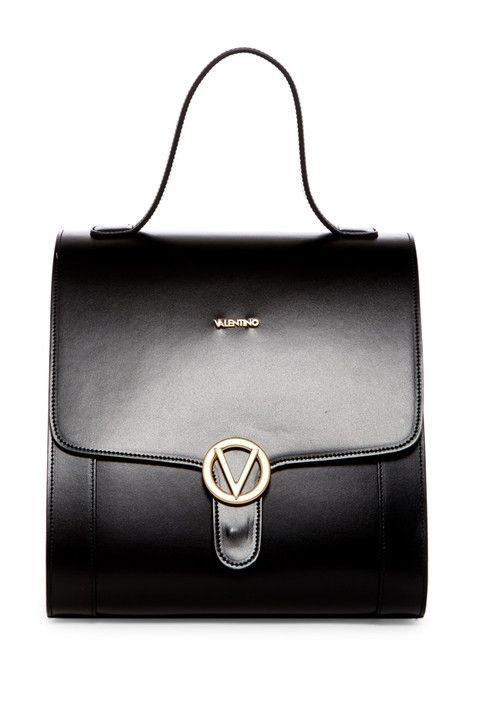 Amy Leather Bowling Bag