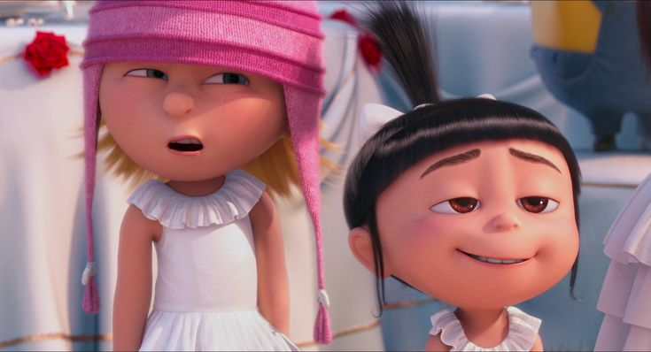 DESPICABLE ME 2 | Edith and Agnes