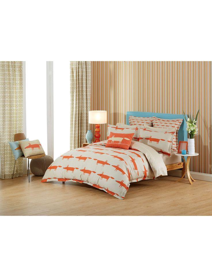Mr Fox Single Bed Quilt Cover | David Jones