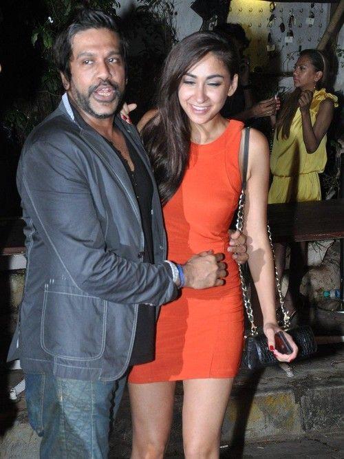 Mughda Godse with her Boyfriend Mithun at Rocky-S Store on June 22, 2013
