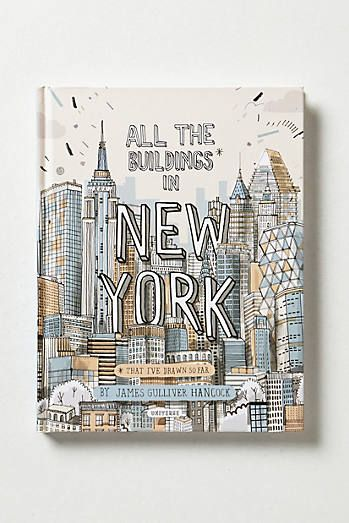 All The Buildings In New York... i would love this book