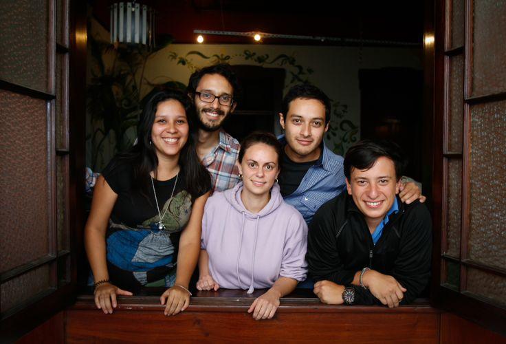 Esquisses, revista digital de arte y cultura, creada por jóvenes egresados de Ciencias de la Comunicación de la URL. Foto por: Juan Sisay