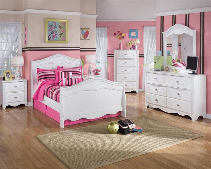 exquisite full sleigh bed with trundle by ashley furniture white sleigh bed for girls kids bedroom sets