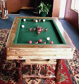 Attractive Bumper Pool Table. This Is A MUST Have In My Home