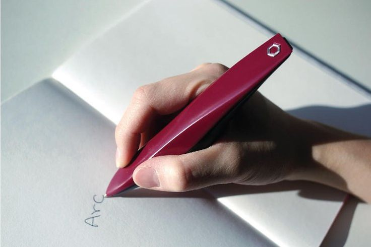 The ARC is the first pen designed specifically for patients with Micrographia, a condition that Parkinson's patients have as the result of having difficulty in routine movements. ARC uses similar technology to Liftware – high frequency vibrations that massage and manage muscles in the hand and helps move the pen across the page.