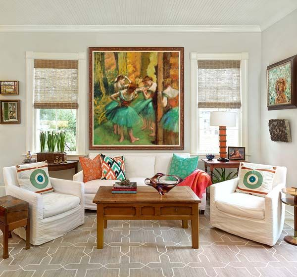 Ocher Art: 5 Misconceptions about Art for Small Apartments