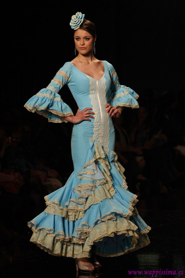 Flamenco Fashion by  Adrián González, 2013