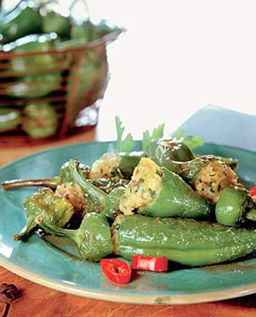 Poivrons farcis des Pouilles (veggie)