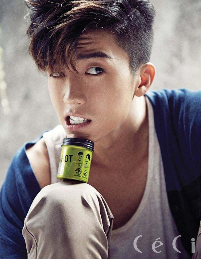 Wooyoung ♡ 2PM // Ceci Magazine September Issue '14