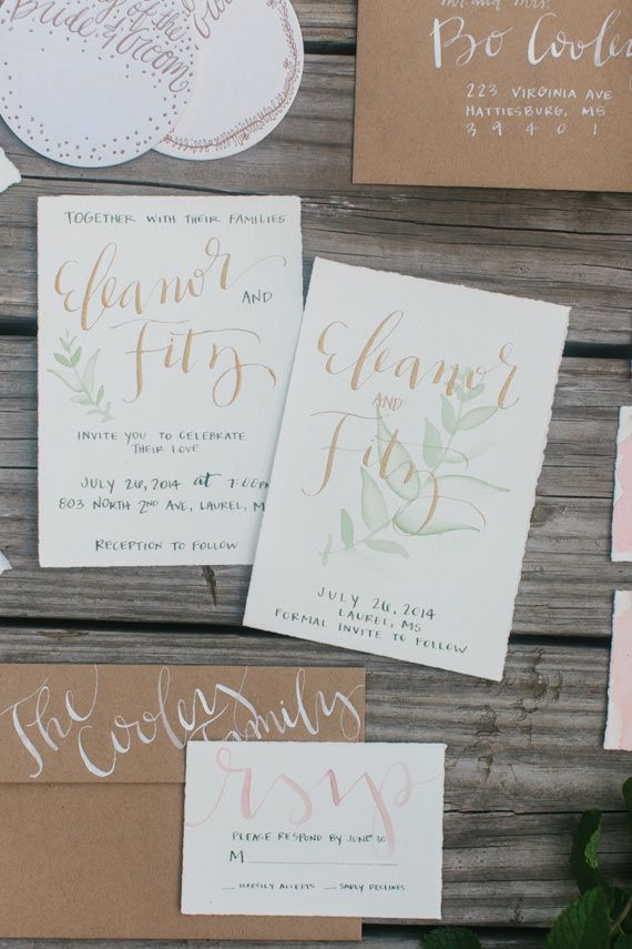 Southern Anthropologie inspired wedding inspiration Photo