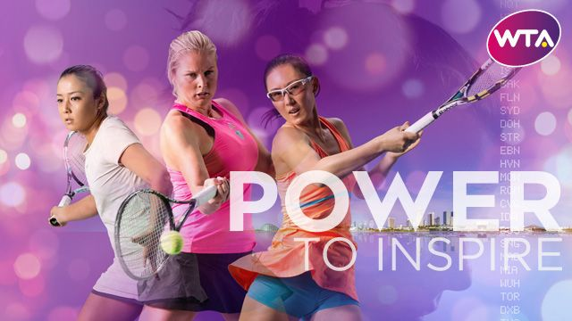 Power To Inspire - WTA Rising Stars Zarina Diyas, Shelby Rogers and Zheng Saisai