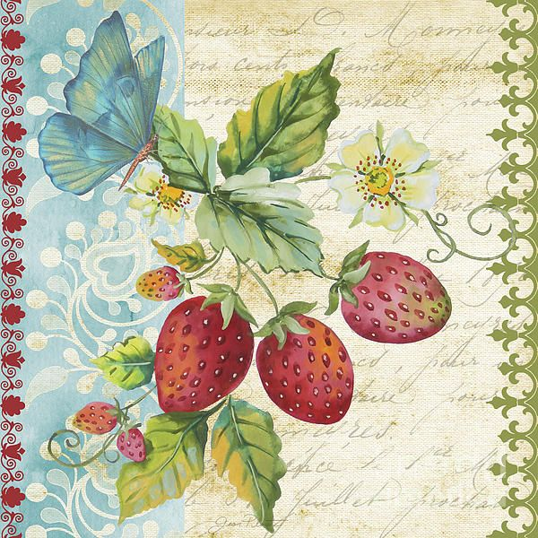 I uploaded new artwork to plout-gallery.artistwebsites.com! - 'Vintage Fruit-Strawberries' - http://plout-gallery.artistwebsites.com/featured/vintage-fruit-strawberries-jean-plout.html via @fineartamerica