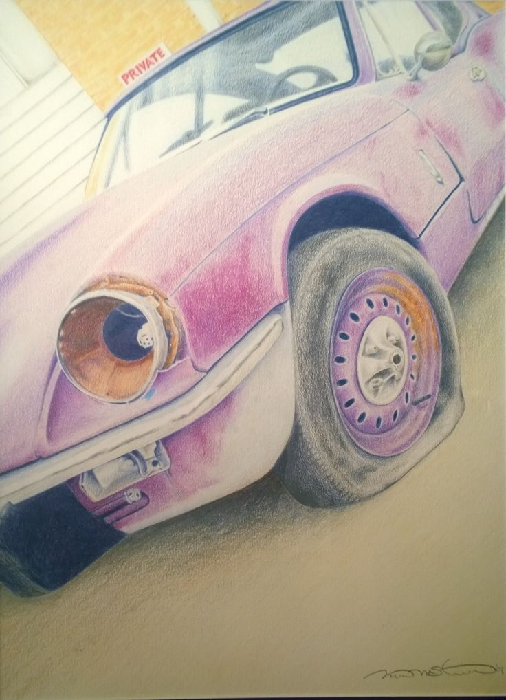 """Second Chance"" Coloured Pencil on Bristol Drawn by: Michael McIntee"