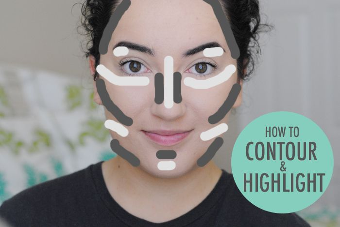 how to contour, how to highlight, contouring and highlighting, makeup tutorial, where to contour on face, where to highlight on face
