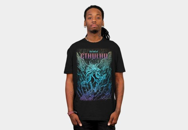A Beast Nightmare of Cthulhu T-Shirt - Design By Humans
