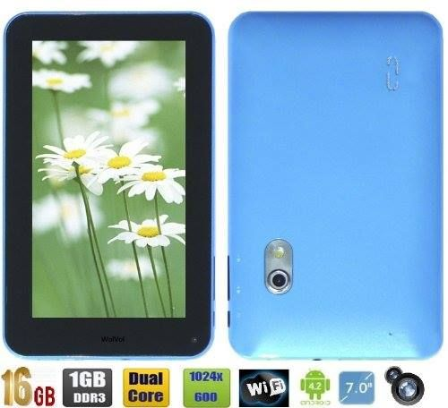 Supports 1080P video playback, HDMI output and connection with HDTV * 5 Point Capacitive Multi Touch Display. Gravity Sensor. * Built with Dual Core which enables better performance. Installed with a regular USB port. * Browse the Web, YouTube Facebook Twitter, Check Emails, Write Documents, Save Photos/Videos #Wolvol #Tablet