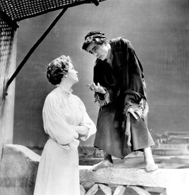 Geraldine Page, James Dean The Immoralist