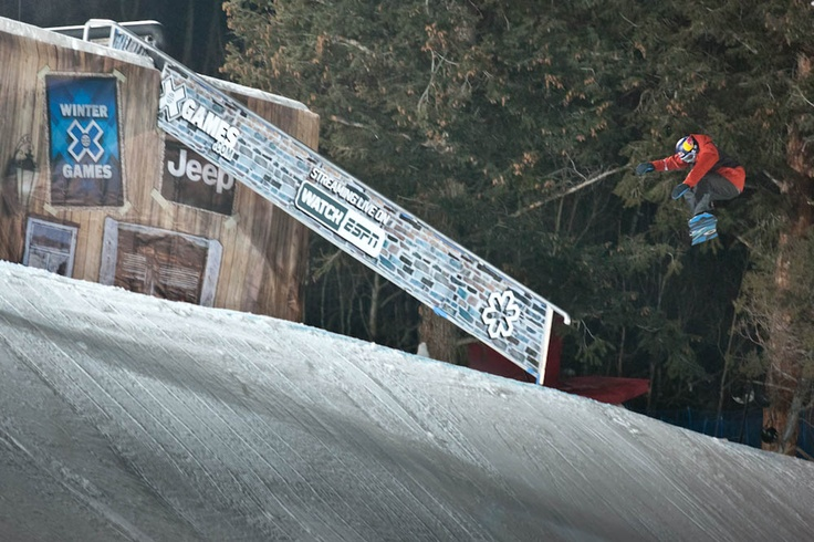 Mark McMorris is putting a serious hurting on the rail game. PHOTO: Aaron Blatt   Get Ready for the 2013 Winter X Games: Slopestyle   TransWorld SNOWboarding