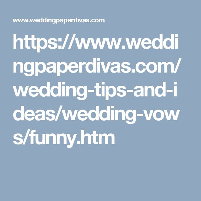 wedding readings from literature funny