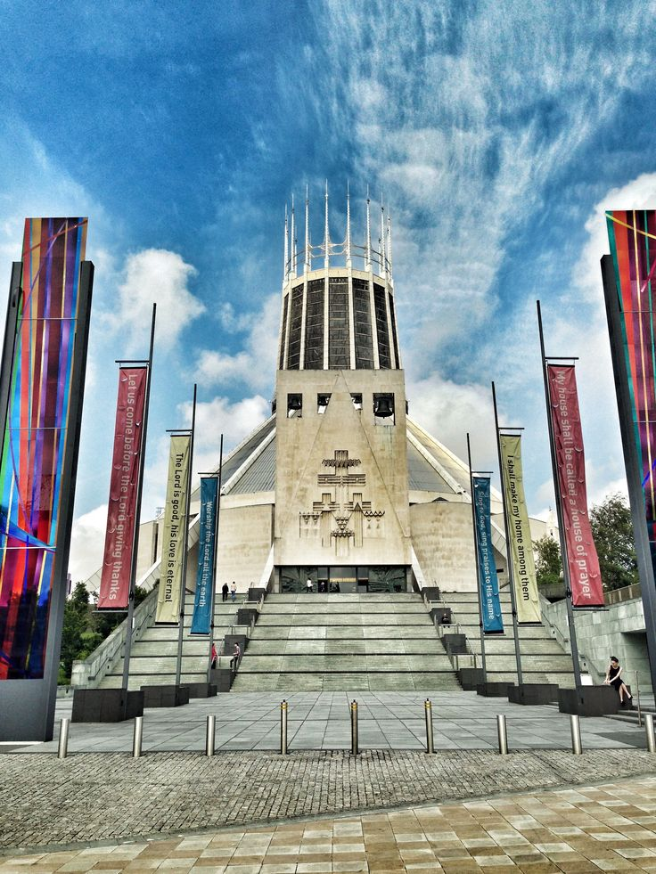 Metropolitan Cathedral Liverpool - Architecture