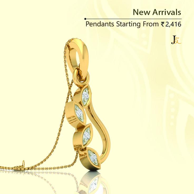 Have you meet our new arrivals in pendants ? - https://jewels5.com/jewellery/pendants/view-all-pendants  #OnlineDiamondJewellery #DiamondPendants #LowestPrice #LightWeight #certifiedDiamondJewellery #BISHallmarked